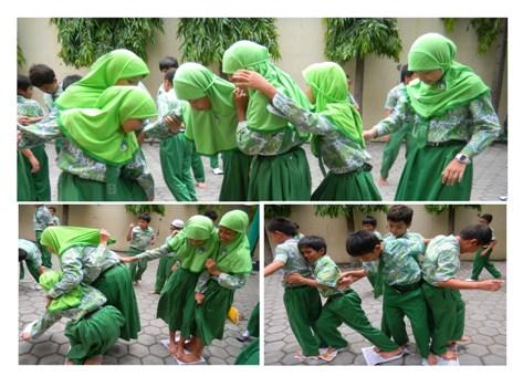 Kekompakan Siswa SD Islam Al Azhar 25 Semarang